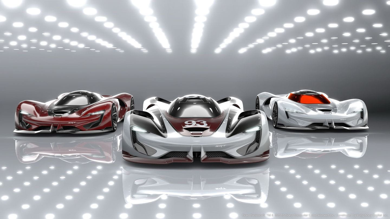 SRT Tomahawk Vision Gran Turismo: el monoplaza del futuro según Dodge es un misil tierra-tierra de 3.000 CV