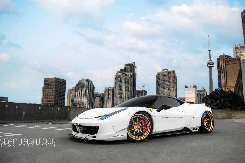 Ensanchando Hasta El Extremo Al Ferrari 458 Italia Diariomotor