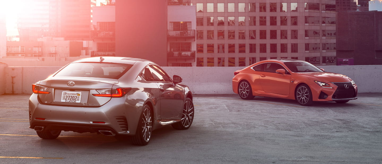 Lexus RC, nueva galería de imágenes: ¡Van a por ti BMW Serie 4!