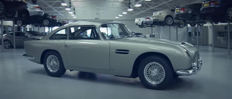 Aston Martin DB5, devolviéndolo a la vída: 2 años de restauración en vídeo