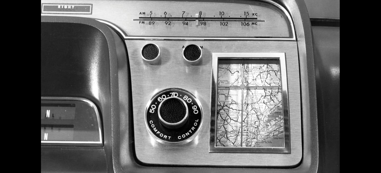 El día en que Ford inventó el navegador, antes de que existieran los GPS, en 1964