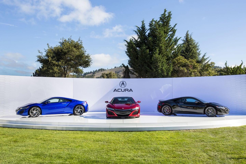 Acura NSX at The Quail 2015.