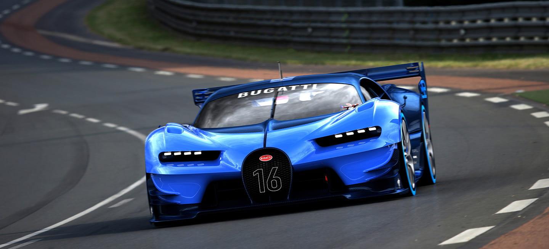5 razones por las que el Bugatti Vision GT Concept es algo más que un deportivo de videojuego