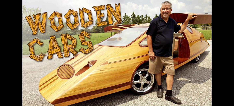 ¿Coches de madera? La increíble historia del carpintero que se propuso crear sus propios coches