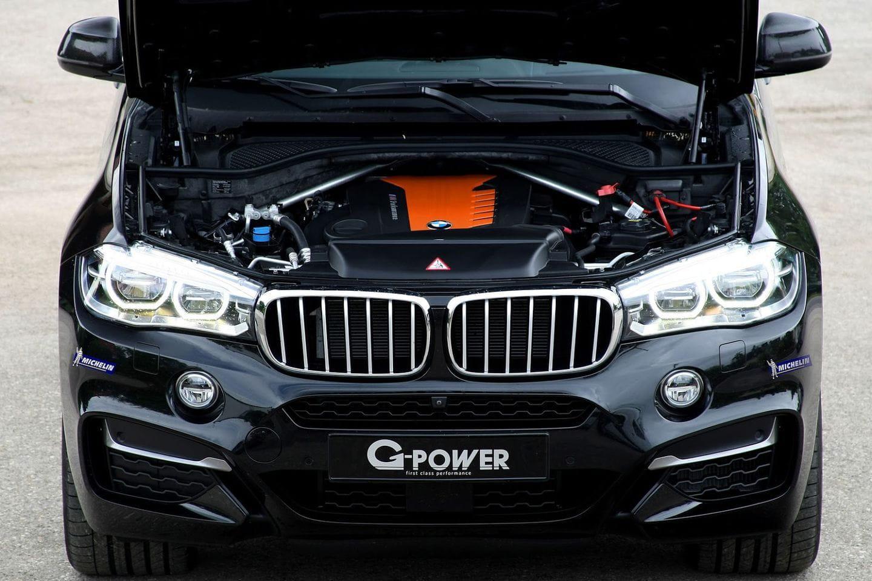 El Absurdo Por G Power Un Bmw X6 Con 455 Cv Diesel Y Llantas De 23