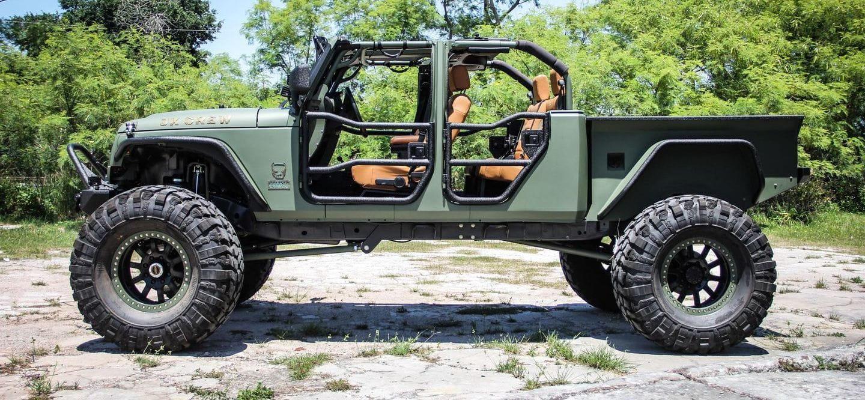 ¿Pagarías 180.000 dólares por este brutal Jeep Wrangler?