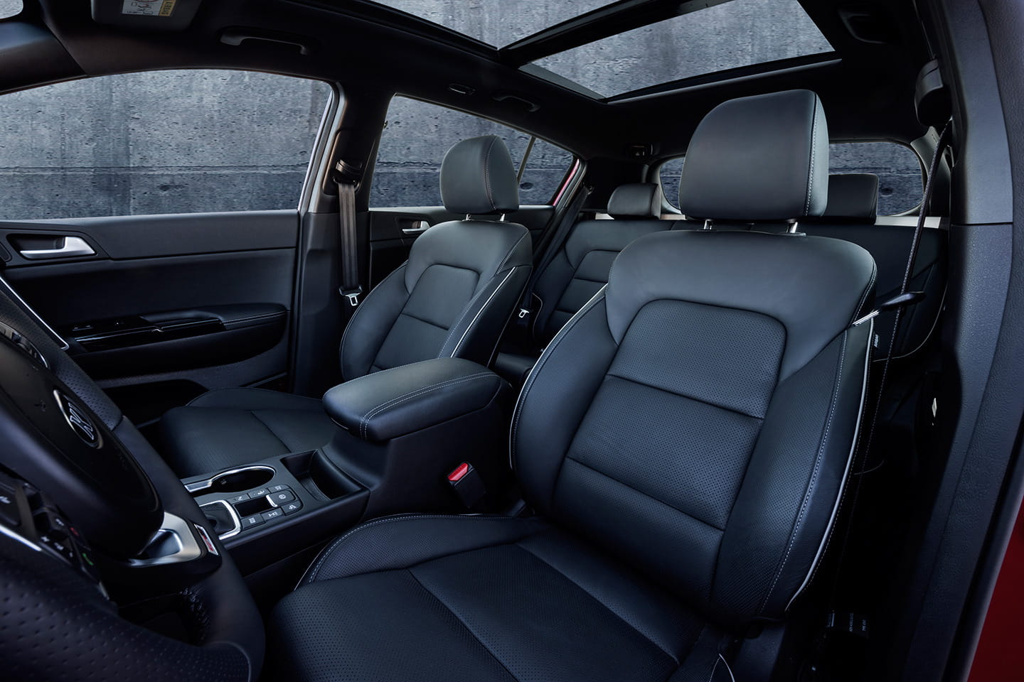 kia sportage 2016 as es su interior m s premium y tecnol gico diariomotor. Black Bedroom Furniture Sets. Home Design Ideas