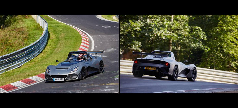 ¡El Lotus 3-Eleven arrasa en Nürburgring! Vuelta rápida en 7 minutos y 6 segundos, con truco…