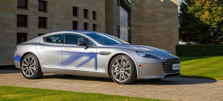 Aston Martin RapidE: este Rapide es eléctrico y llegará con hasta 1.000 CV de potencia