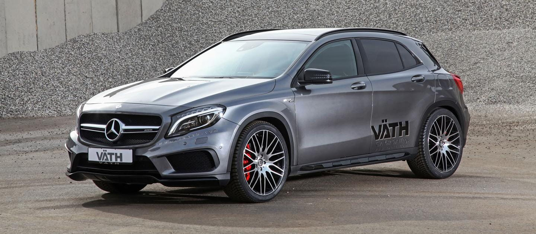 ¿Tienes un Mercedes GLA 45 AMG? Väth tiene hasta 446 cv para ti