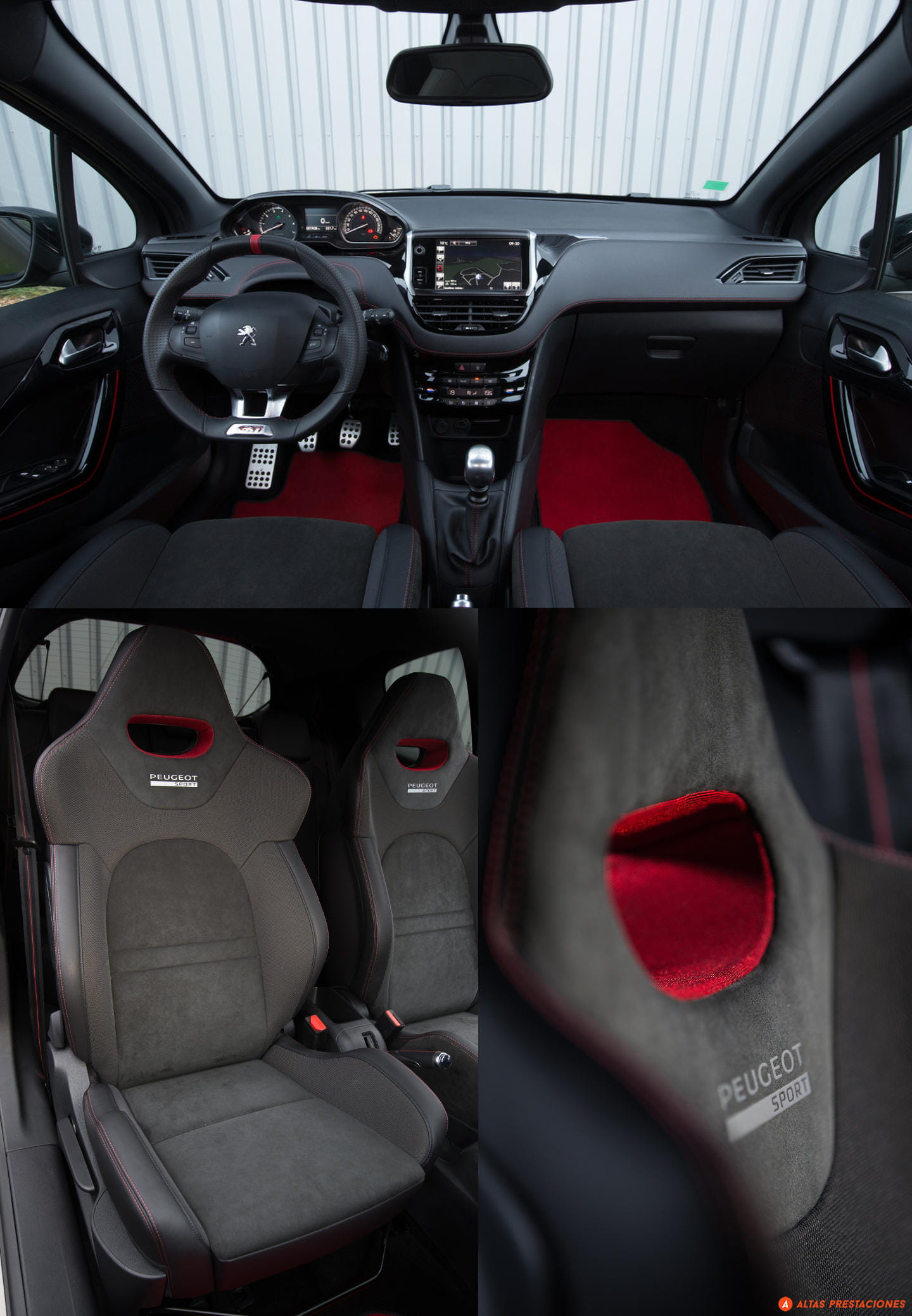 peugeot 208 gti by peugeot sport a prueba c est. Black Bedroom Furniture Sets. Home Design Ideas