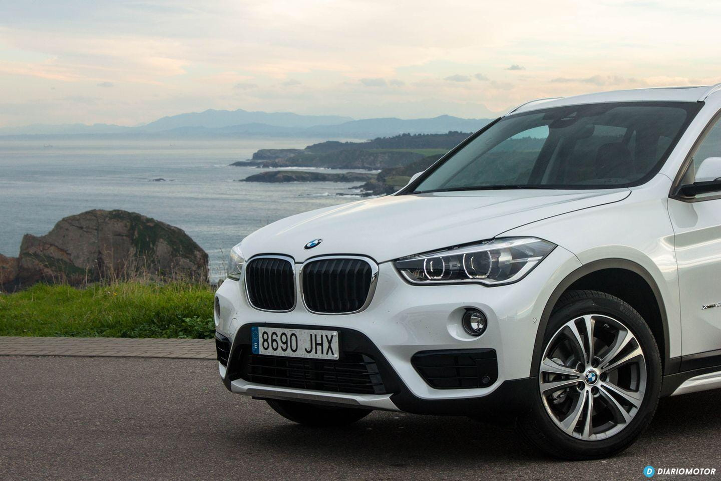bmw x1 2016 xdrive20d prueba del suv di sel de 190 cv. Black Bedroom Furniture Sets. Home Design Ideas