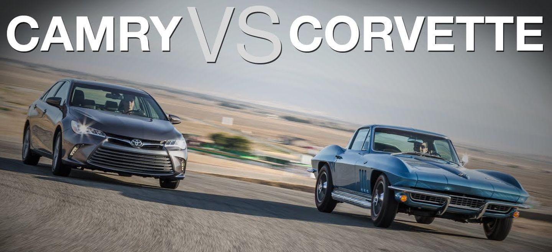 ¿Puede un Toyota Camry humillar en la pista a un Chevrolet Corvette?