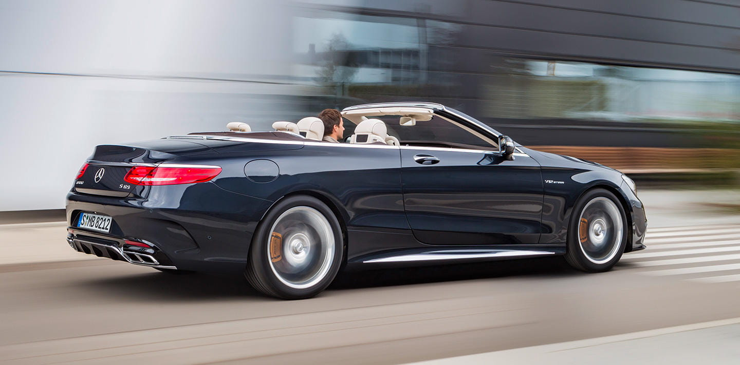 mercedes amg s 65 cabrio el super descapotable con v12. Black Bedroom Furniture Sets. Home Design Ideas