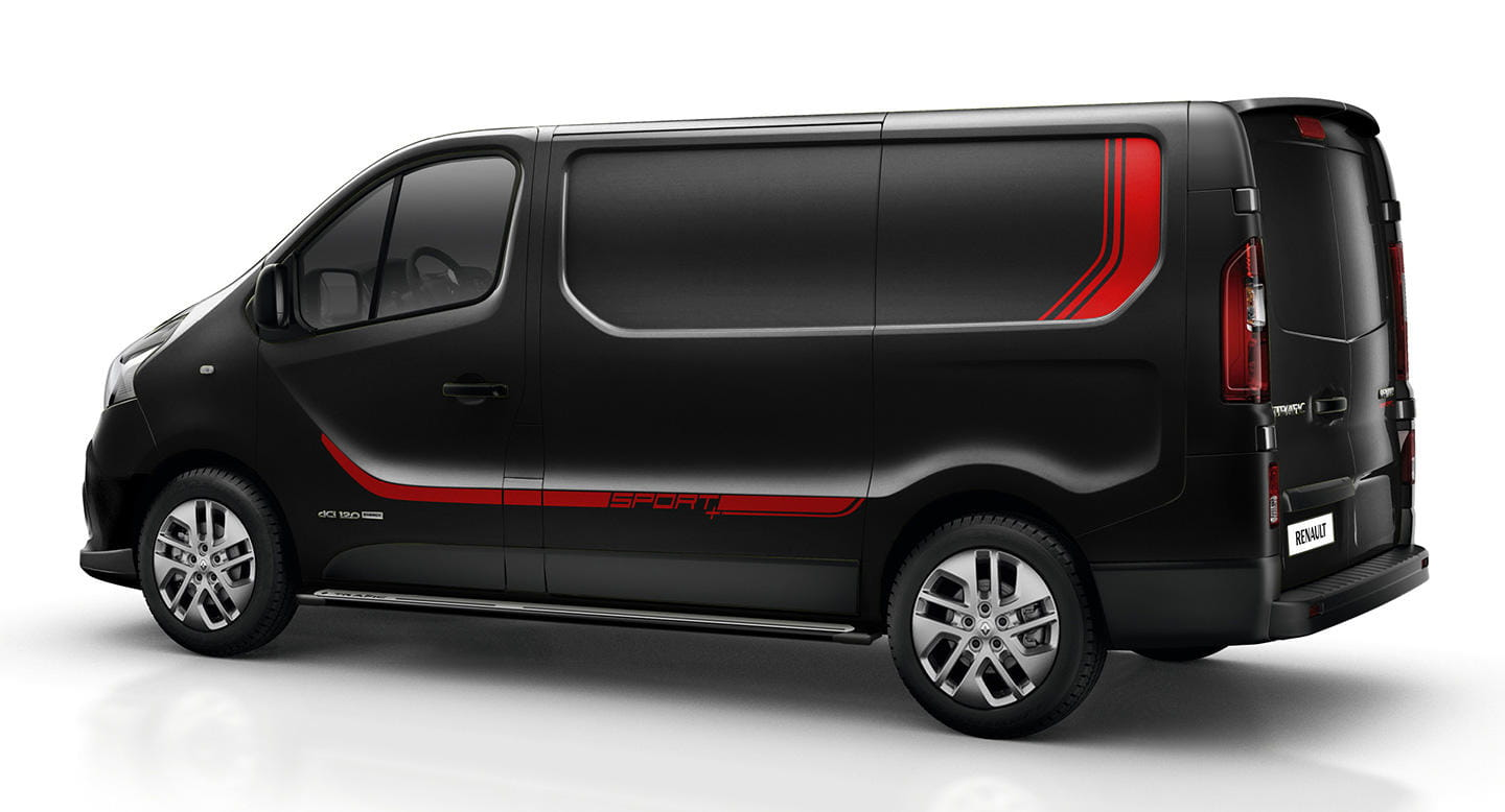el renault sport de las renault trafic para el m s deportivo de los repartidores diariomotor. Black Bedroom Furniture Sets. Home Design Ideas