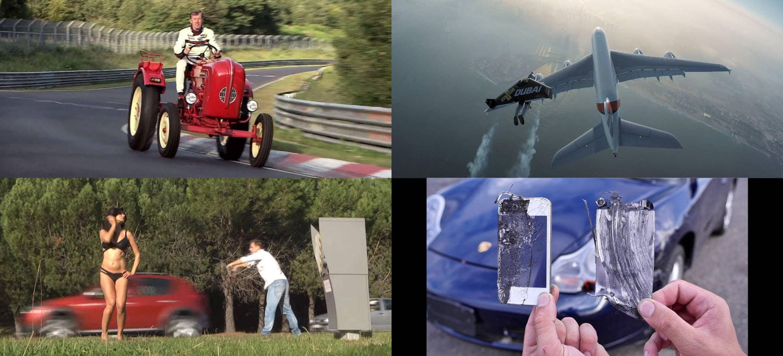 Los 15 vídeos más locos de 2015