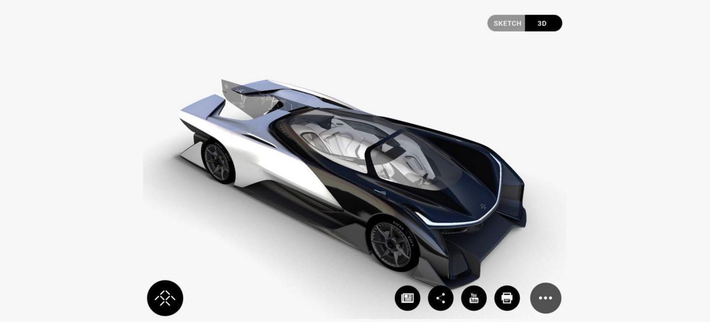 u00a1brutal  dicen que este es el prototipo de faraday future  1 000 cv para superar los 320 km  h