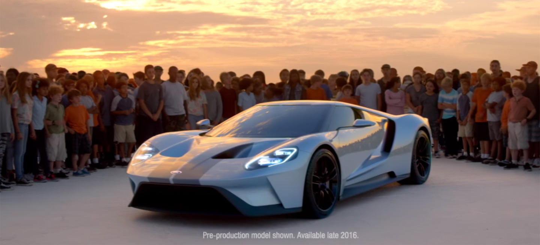 Vídeo: El magnetismo del Ford GT