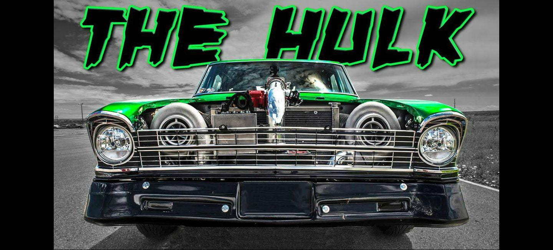 Hulk, el Chevrolet Nova de 2.500 CV que surcaba las calles sin control [vídeo]