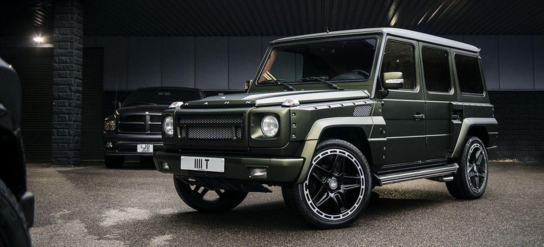 Por un <em>módico</em> precio, el único Mercedes Clase G preparado por Kahn Design puede ser tuyo
