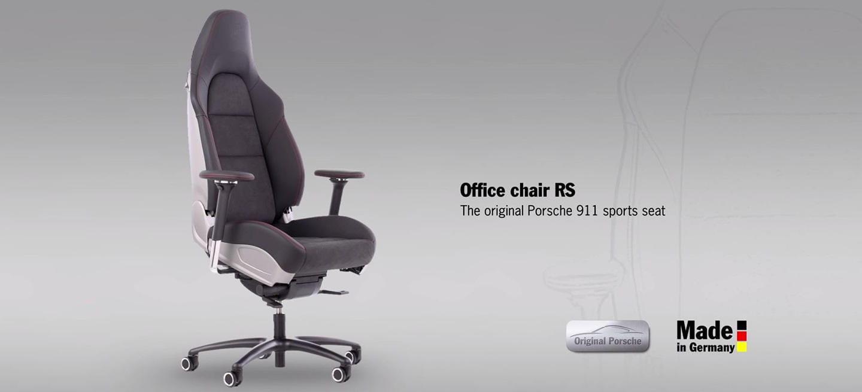 Esta silla de oficina del Porsche 911 es el sueño de cualquier quemadillo (vídeo)