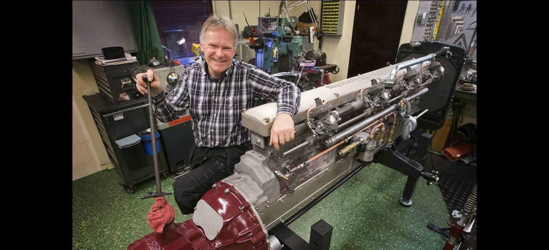 Pelle Söderström y su motor de 16 cilindros en línea: ¿en qué coche lo montará?