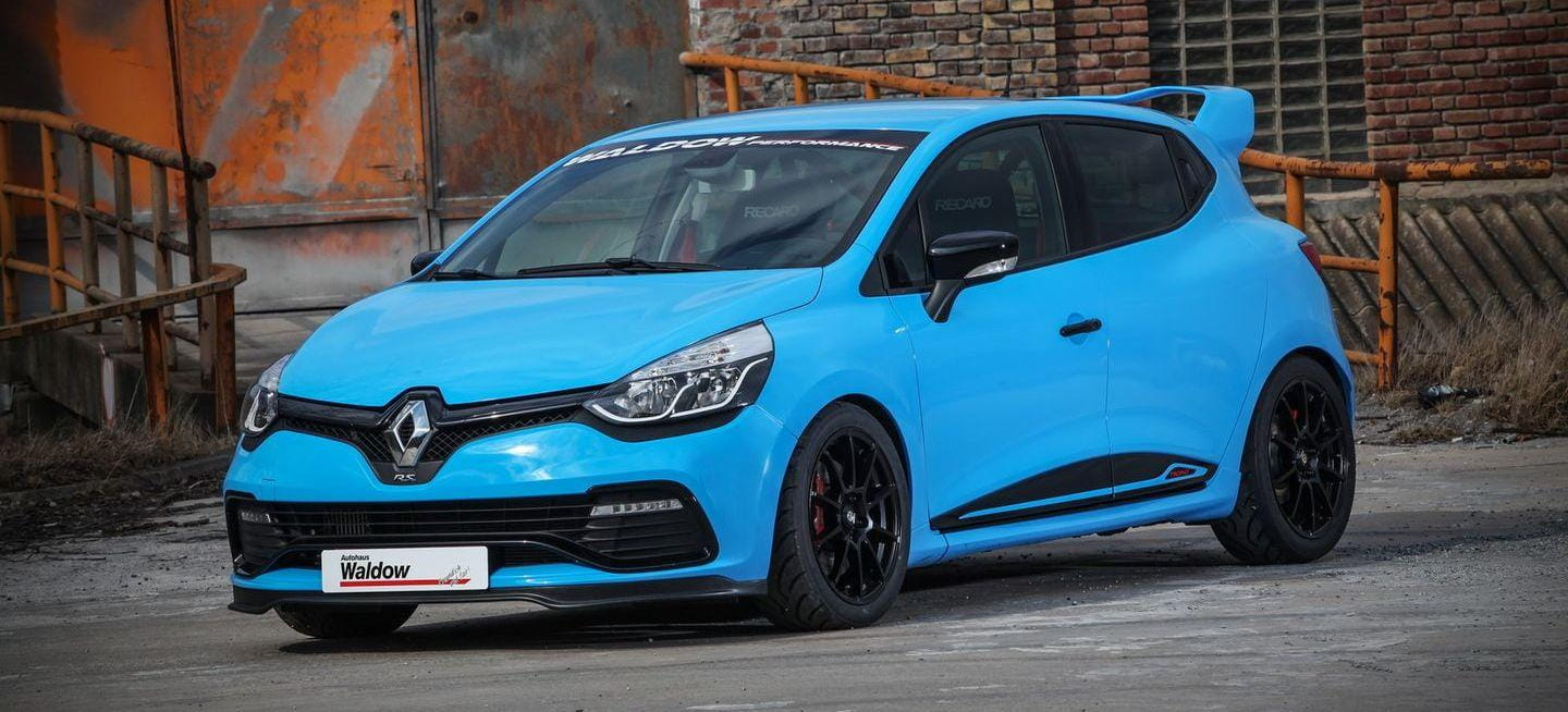 waldow transforma tu renault clio rs trophy en el terror de los trackdays diariomotor. Black Bedroom Furniture Sets. Home Design Ideas