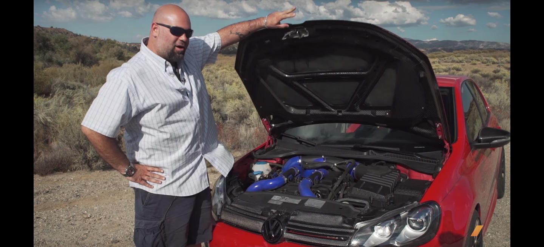 Este Volkswagen Golf de 740 CV es el Golf que Volkswagen jamás se atrevería a fabricar (vídeo)