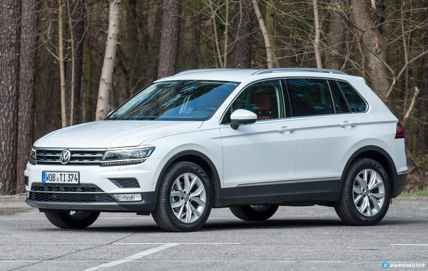 prueba del volkswagen tiguan 2016 un suv en los tiempos. Black Bedroom Furniture Sets. Home Design Ideas