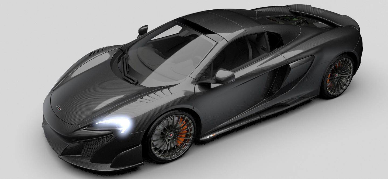 """¿Te gusto el McLaren 675LT Spider """"Carbon Series""""? Tenemos una mala noticia…"""