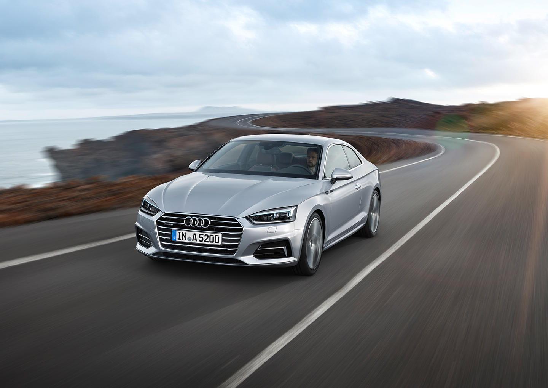 El mismo de siempre? Audi A5: comparativa gráfica, en 10 imágenes ...
