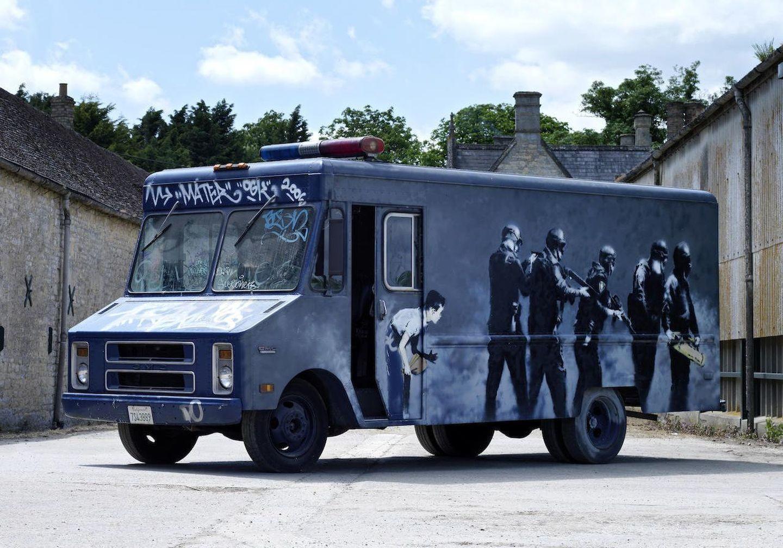 banksy-furgoneta-1