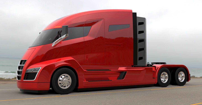 Nikola El Tesla De Los Camiones Es Electrico Con 2 000 Cv Y