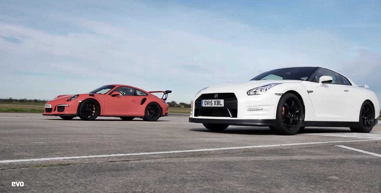 Este vídeo escuece: ¿Ganará el Nissan GT-R al Porsche 911 GT3 RS?