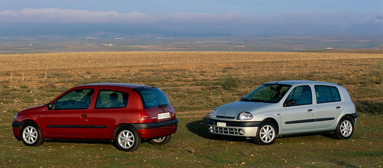 Breve historia del Renault Clio: 26 años del Clio, en 26 imágenes ...