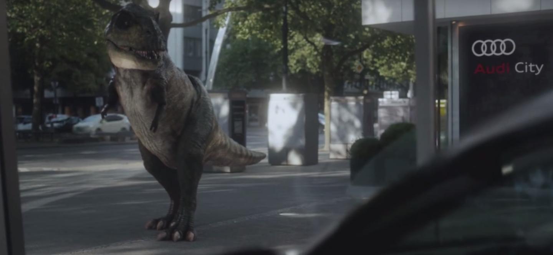 191 Qu 233 Hace Un Dinosaurio En El Nuevo Anuncio De Audi