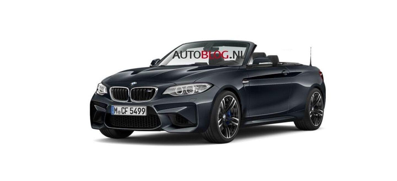 El BMW M2 Cabrio que BMW prometió no fabricar, supuestamente filtrado