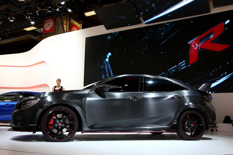 Innovative Honda Civic Type R Concept En Directo Desde El Saln De