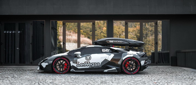 Jon Olsson, que ahora también es youtuber, nos enseña su Lamborghini Huracan preparado