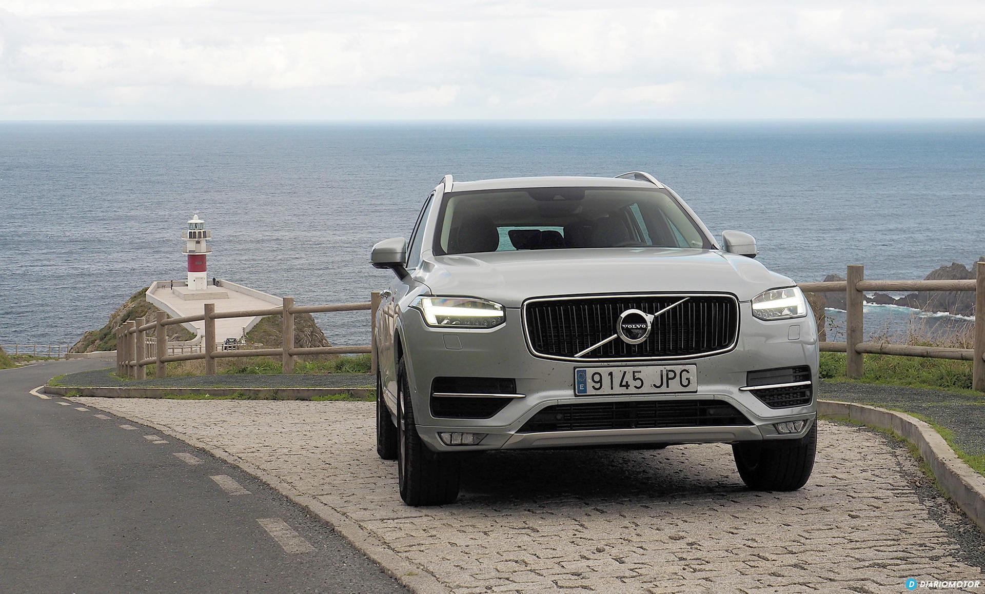 Prueba Volvo XC90 D4 Momentum: road trip a Estaca de Bares y acantilados de Loiba