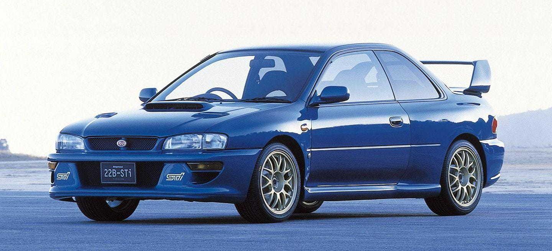 Subaru 22b Sti Potencia Limitada