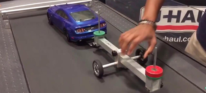Lección de física: por qué es tan importante la distribución de la carga en un remolque (vídeo)