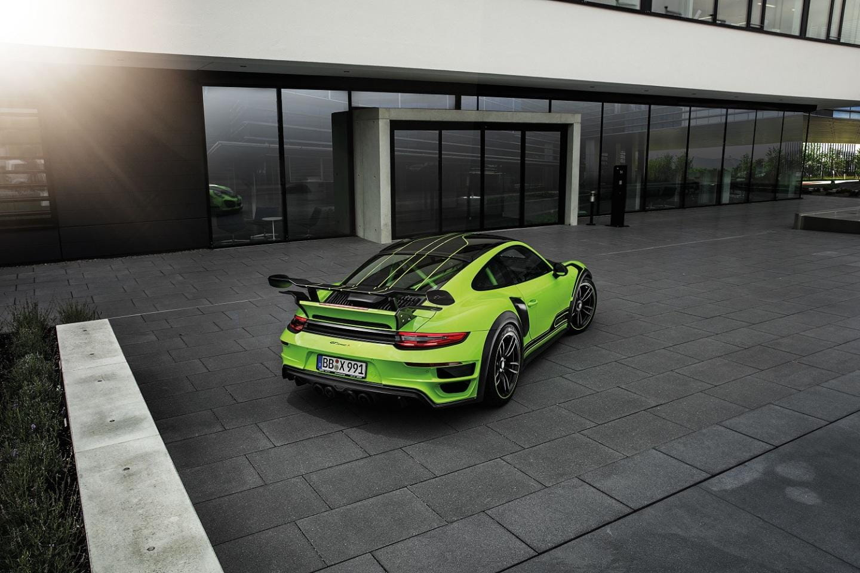 TechArt GTstreet R: el Porsche 911 Turbo S vestido de GT3 RS
