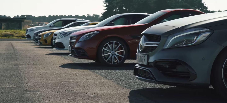 Vídeo: ¿Qué Mercedes-AMG es más rápido en una carrera de aceleración?