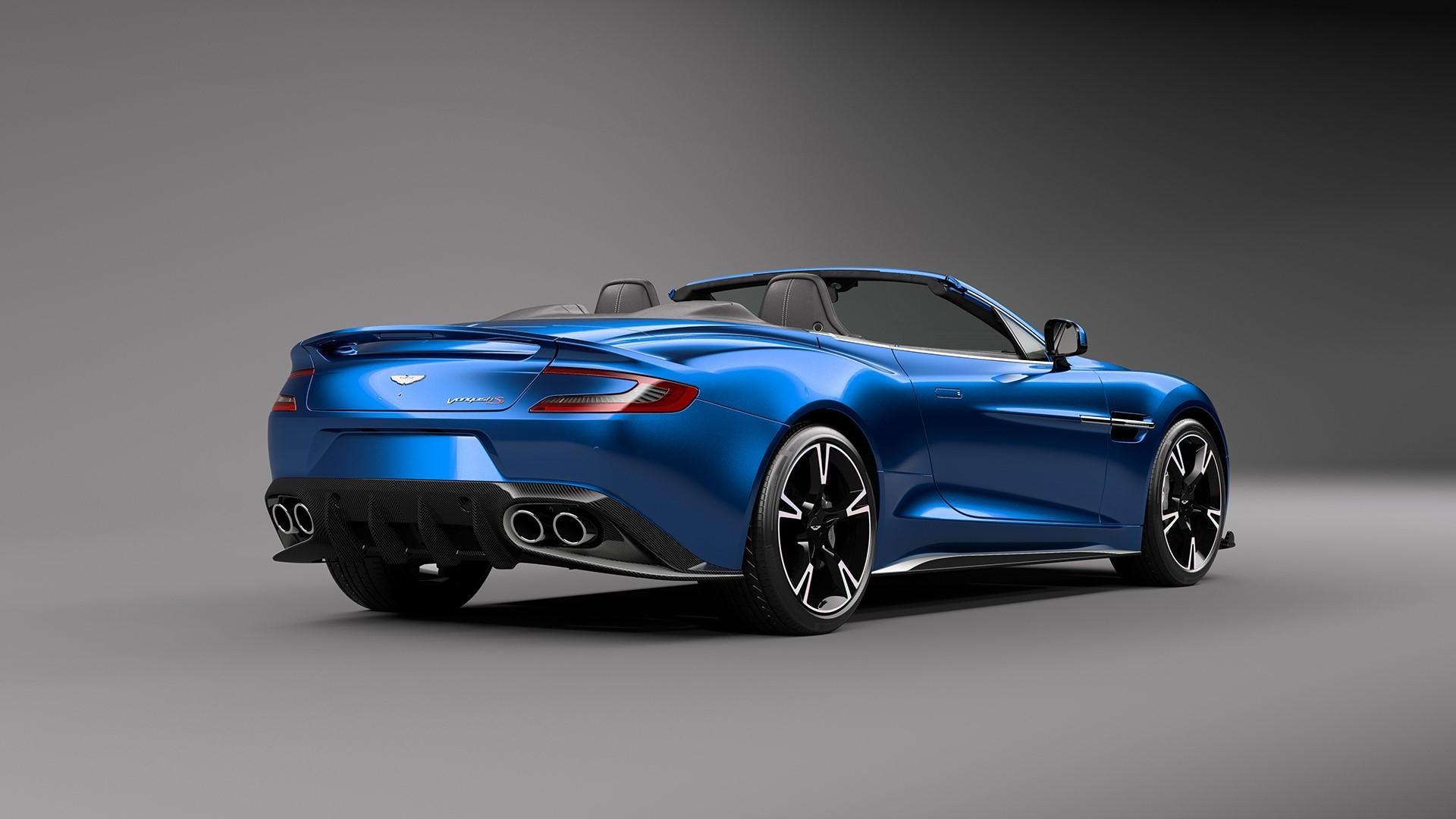 Una Especie En Extincion Asi Es El Nuevo Aston Martin Vanquish S Volante Probablemente El Ultimo Aston Atmosferico Foto 4 De 5