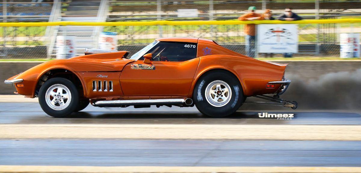 ¡Sacrilegio! Un Chevrolet Corvette C3 con motor diésel, creado para competiciones de aceleración