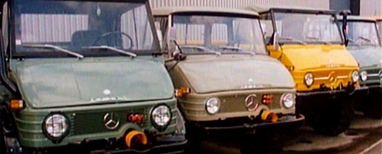 La apasionante historia de los versátiles Mercedes Unimog: 70 años de evolución en vídeo