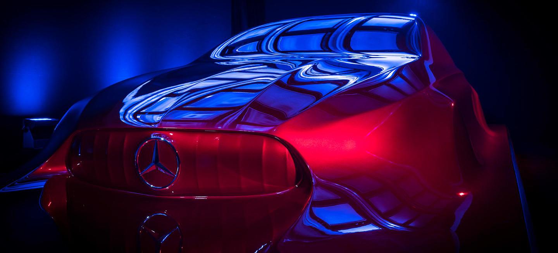 Lo creas o no, esta escultura es el nuevo Mercedes Clase A sedán de cuatro puertas