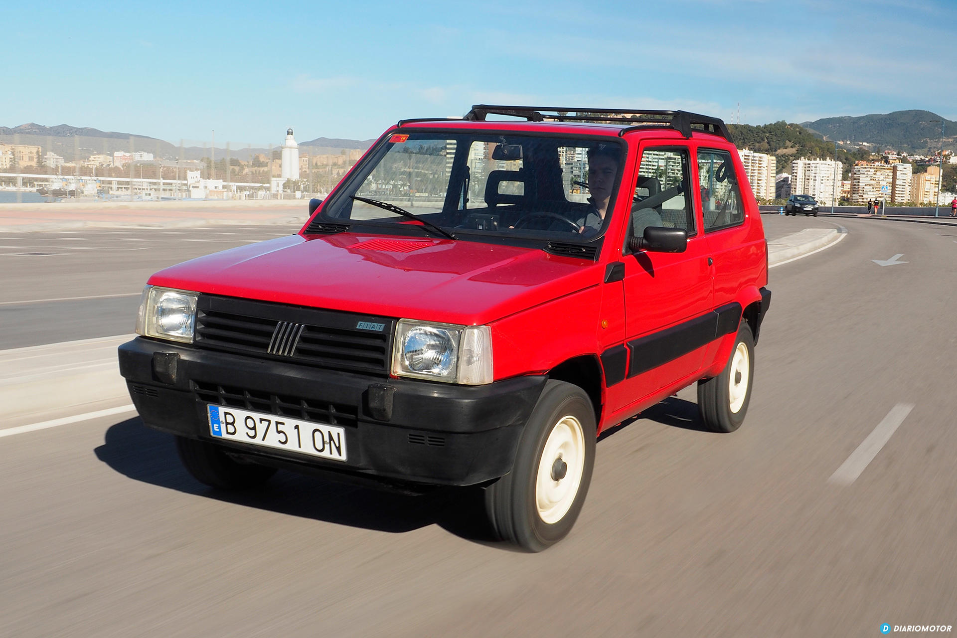 historia del fiat panda ii 1983 el fiat panda 4 4 pandaraiddm diariomotor. Black Bedroom Furniture Sets. Home Design Ideas