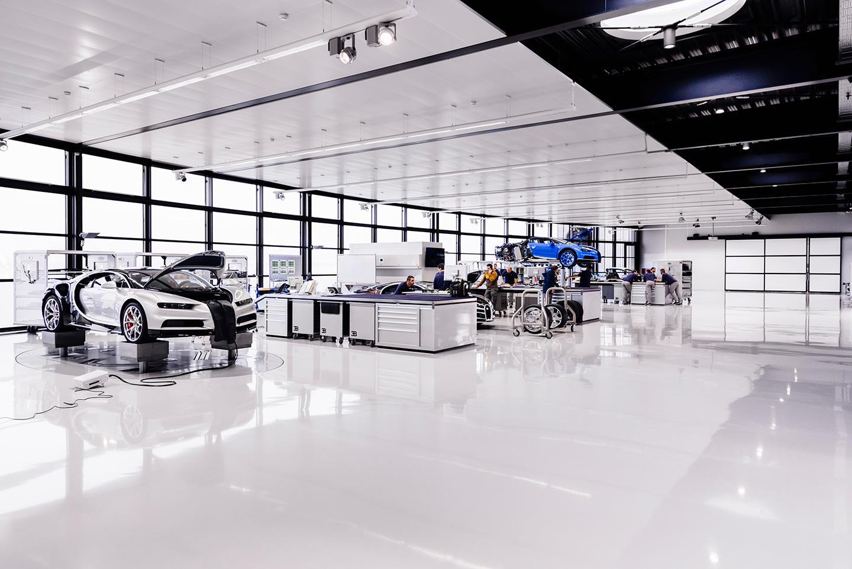 ¿Tienes 44 minutos? Deléitate con el documental sobre cómo se fabrica el Bugatti Chiron
